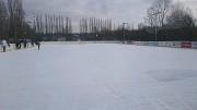 Ledová plocha za paddockem
